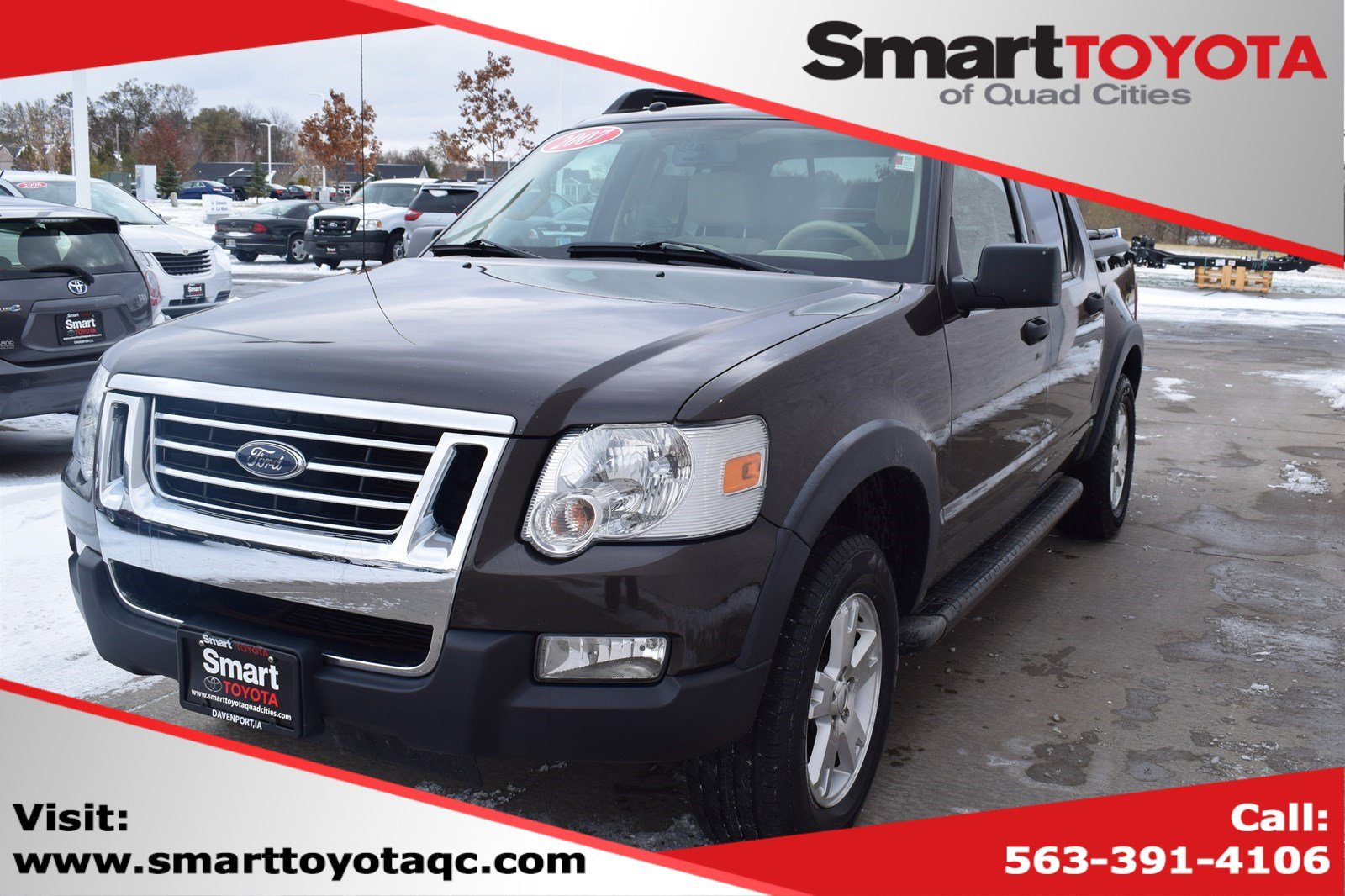 2007 Ford Explorer Sport Trac >> Pre Owned 2007 Ford Explorer Sport Trac 4wd