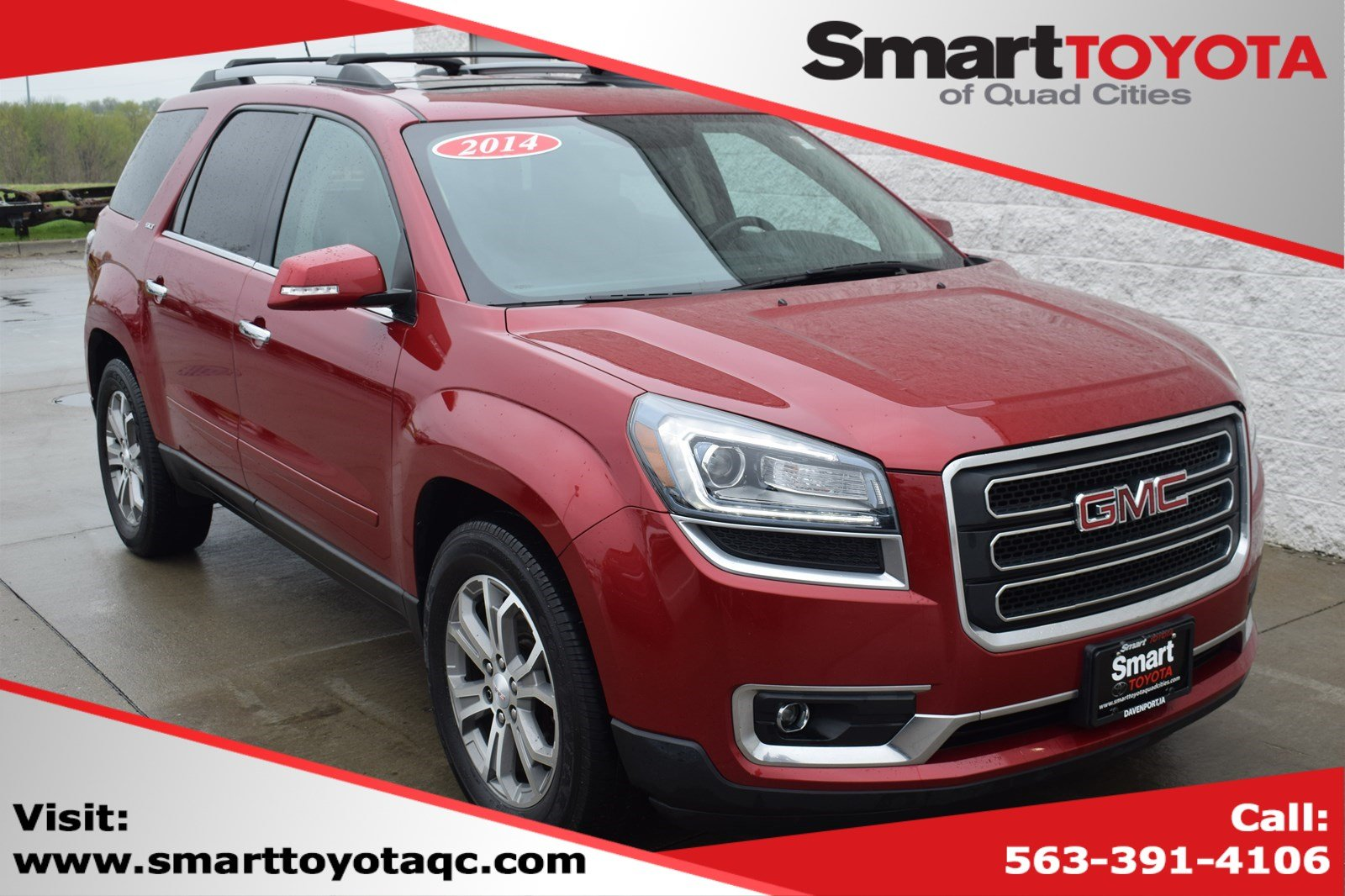Pre-Owned 2014 GMC Acadia SLT