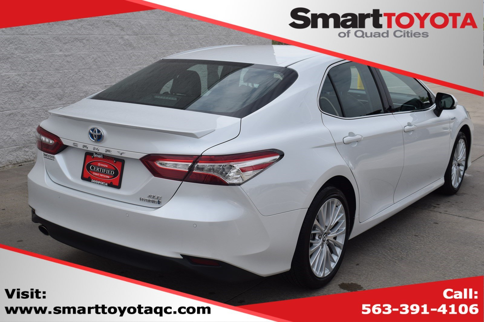 Certified Pre-Owned 2018 Toyota Camry Hybrid LE
