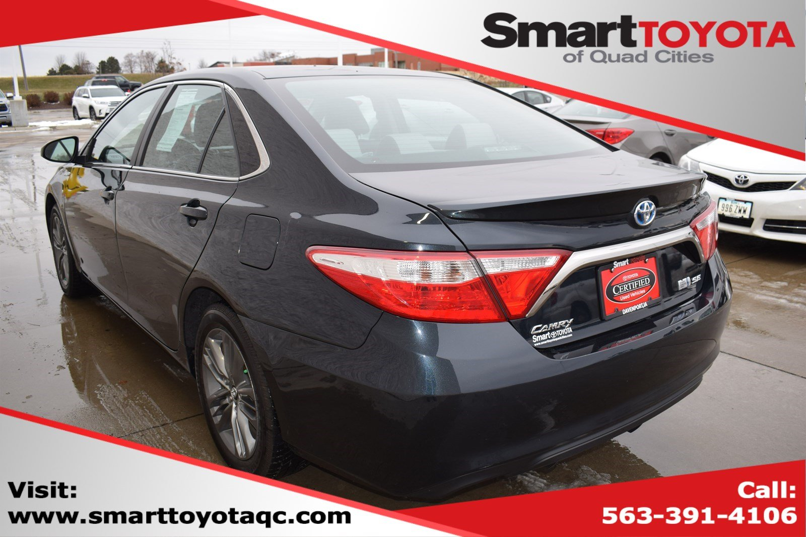 Pre-Owned 2016 Toyota Camry Hybrid