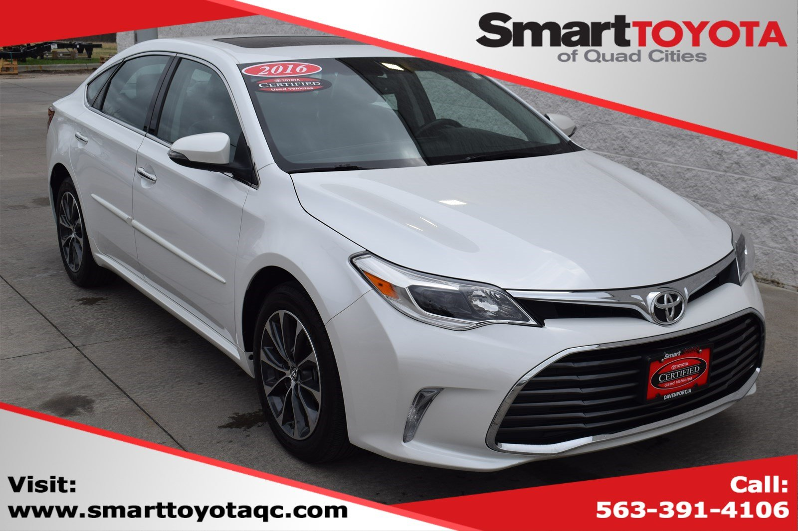 Certified Pre-Owned 2016 Toyota Avalon PRM