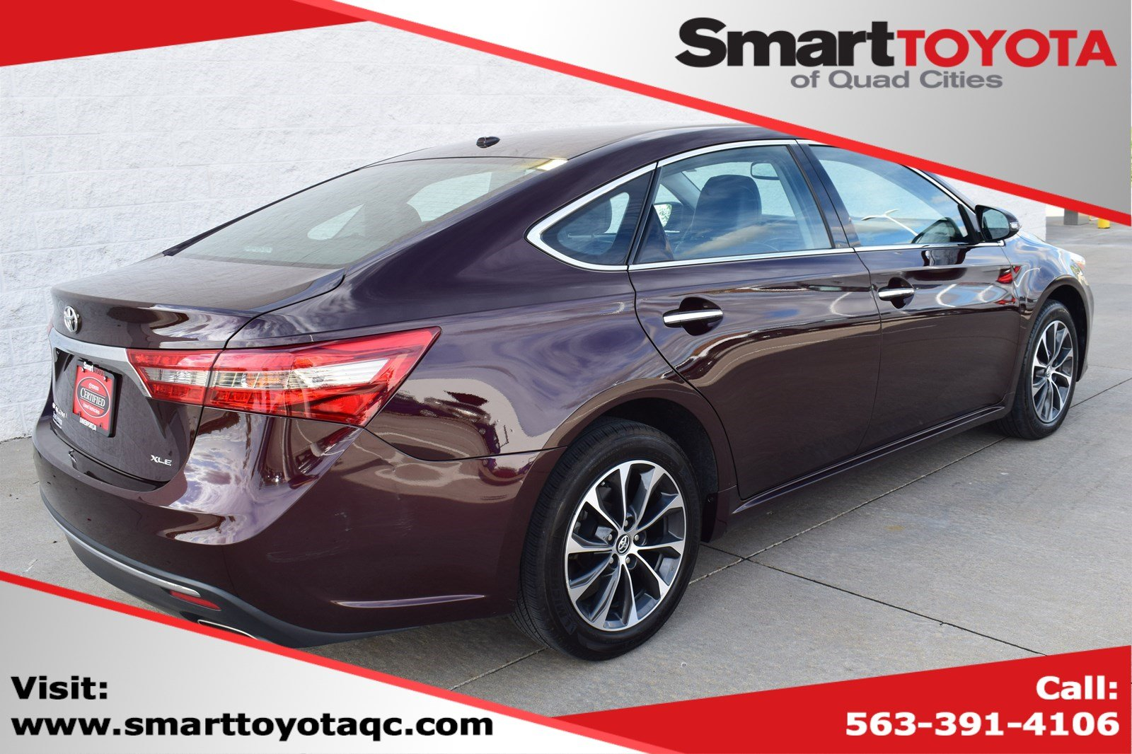 Certified Pre-Owned 2018 Toyota Avalon PRM