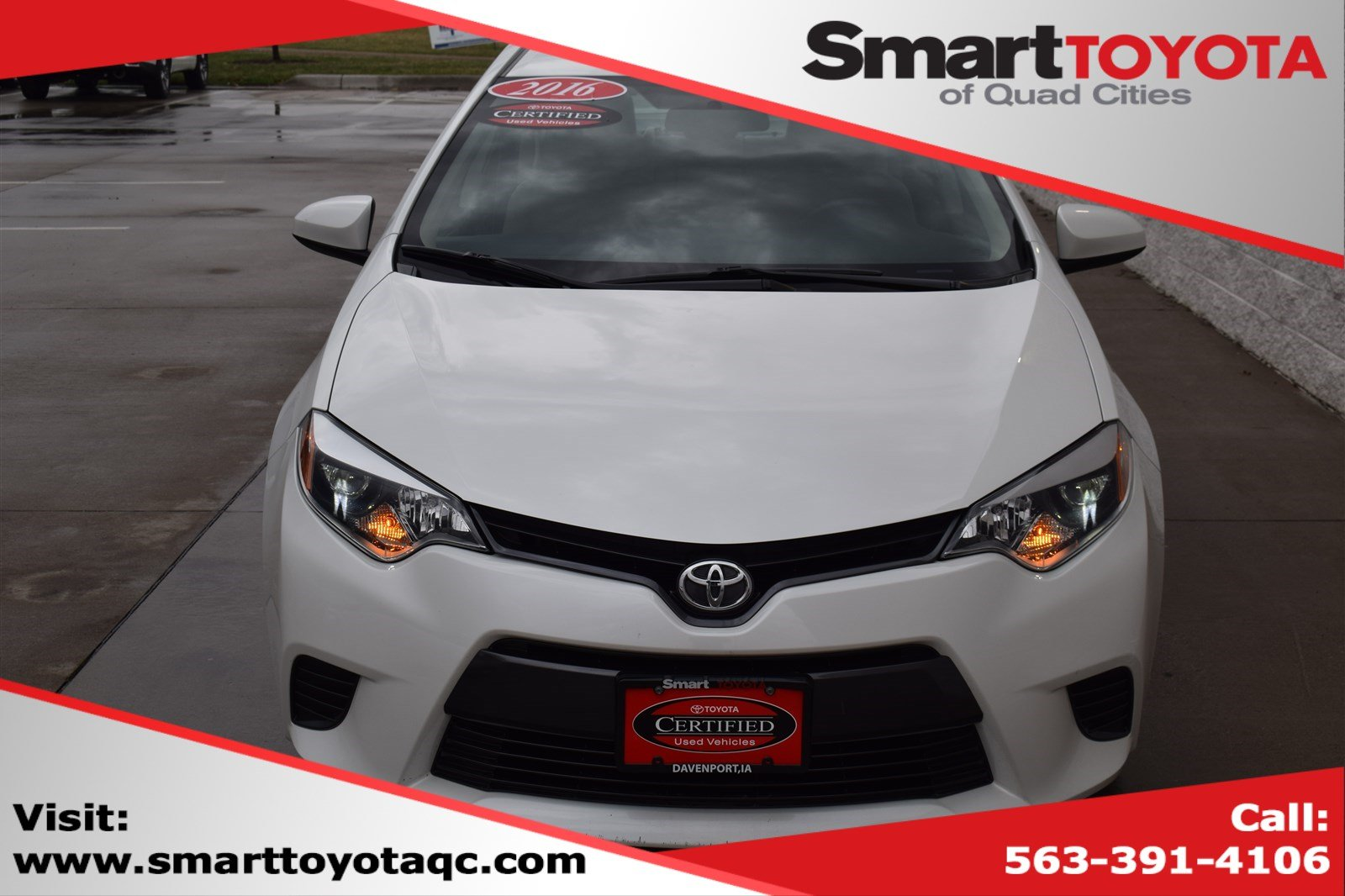 Certified Pre-Owned 2016 Toyota Corolla ECO