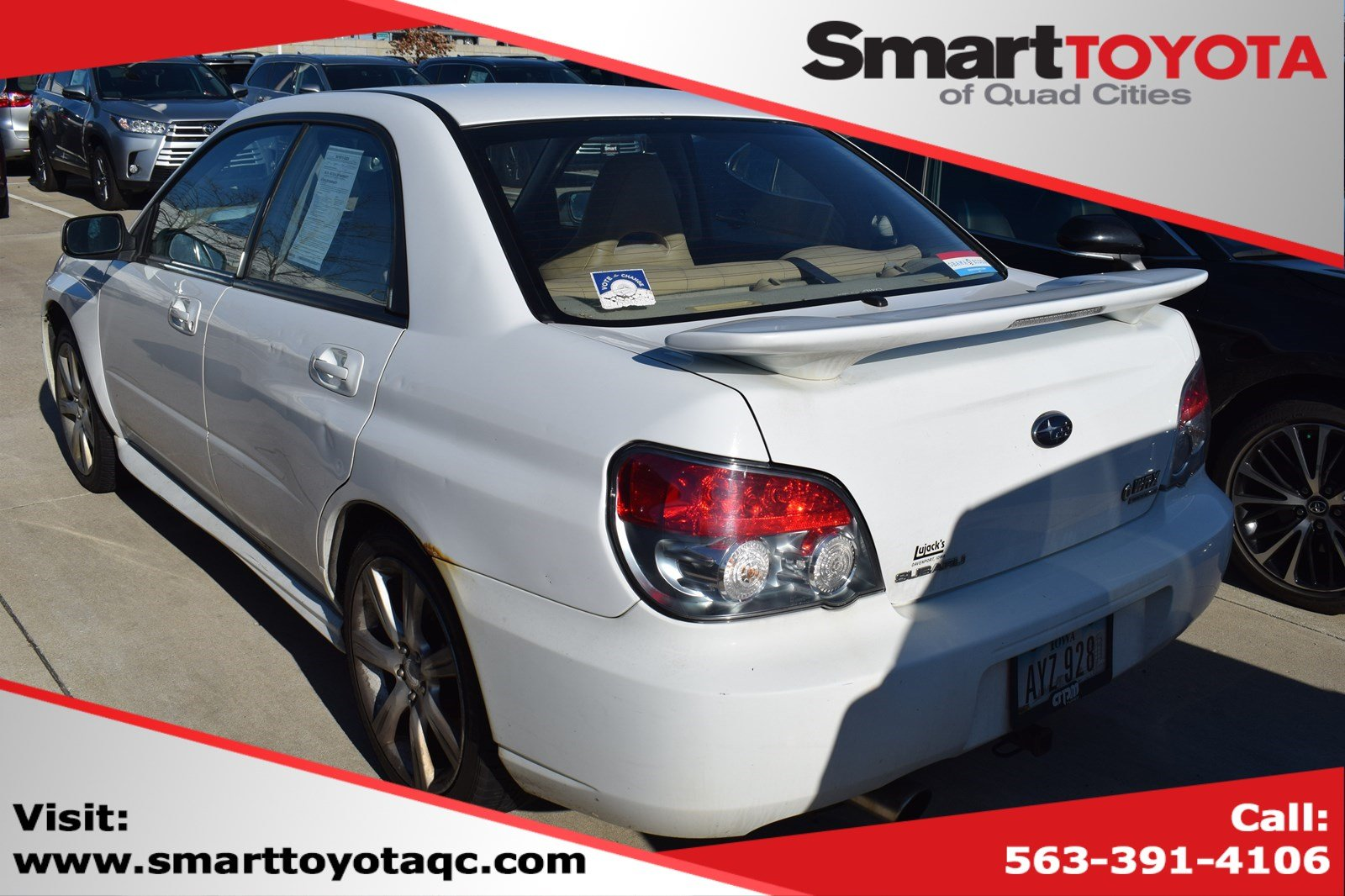 Pre-Owned 2006 Subaru Impreza Sedan WRX